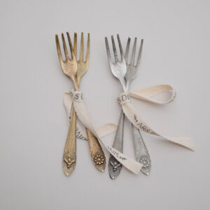 tenedores metal